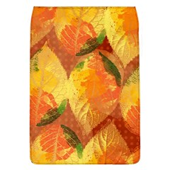 Fall Colors Leaves Pattern Flap Covers (l)  by DanaeStudio