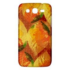 Fall Colors Leaves Pattern Samsung Galaxy Mega 5 8 I9152 Hardshell Case  by DanaeStudio
