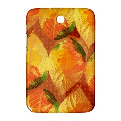 Fall Colors Leaves Pattern Samsung Galaxy Note 8 0 N5100 Hardshell Case  by DanaeStudio