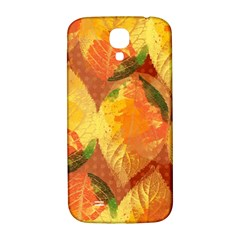 Fall Colors Leaves Pattern Samsung Galaxy S4 I9500/i9505  Hardshell Back Case by DanaeStudio