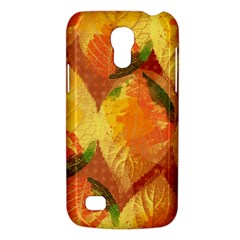 Fall Colors Leaves Pattern Galaxy S4 Mini by DanaeStudio