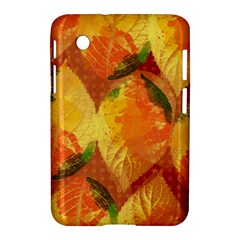 Fall Colors Leaves Pattern Samsung Galaxy Tab 2 (7 ) P3100 Hardshell Case  by DanaeStudio