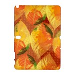 Fall Colors Leaves Pattern Samsung Galaxy Note 10.1 (P600) Hardshell Case