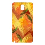Fall Colors Leaves Pattern Samsung Galaxy Note 3 N9005 Hardshell Back Case
