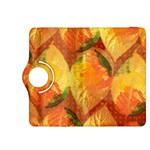 Fall Colors Leaves Pattern Kindle Fire HDX 8.9  Flip 360 Case