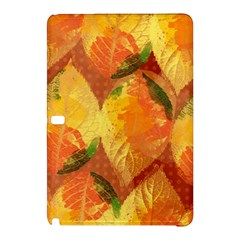 Fall Colors Leaves Pattern Samsung Galaxy Tab Pro 12 2 Hardshell Case by DanaeStudio