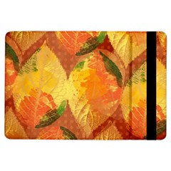 Fall Colors Leaves Pattern Ipad Air Flip by DanaeStudio