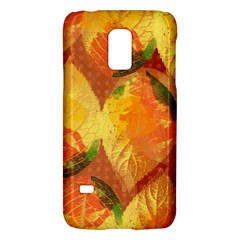 Fall Colors Leaves Pattern Galaxy S5 Mini by DanaeStudio