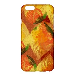 Fall Colors Leaves Pattern Apple Iphone 6 Plus/6s Plus Hardshell Case by DanaeStudio
