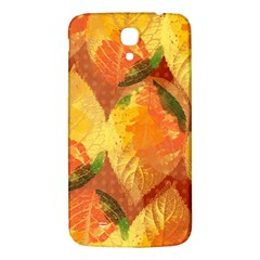 Fall Colors Leaves Pattern Samsung Galaxy Mega I9200 Hardshell Back Case by DanaeStudio