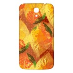 Fall Colors Leaves Pattern Samsung Galaxy Mega I9200 Hardshell Back Case