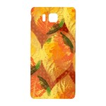Fall Colors Leaves Pattern Samsung Galaxy Alpha Hardshell Back Case