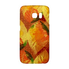 Fall Colors Leaves Pattern Galaxy S6 Edge by DanaeStudio