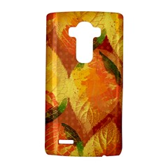 Fall Colors Leaves Pattern Lg G4 Hardshell Case by DanaeStudio