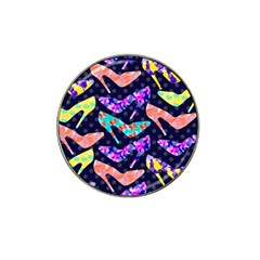 Colorful High Heels Pattern Hat Clip Ball Marker (10 Pack) by DanaeStudio