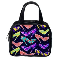 Colorful High Heels Pattern Classic Handbags (one Side) by DanaeStudio