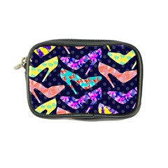 Colorful High Heels Pattern Coin Purse by DanaeStudio