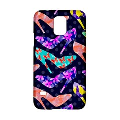 Colorful High Heels Pattern Samsung Galaxy S5 Hardshell Case  by DanaeStudio