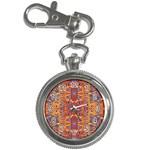 Oriental Watercolor Ornaments Kaleidoscope Mosaic Key Chain Watches