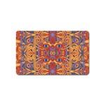 Oriental Watercolor Ornaments Kaleidoscope Mosaic Magnet (Name Card)