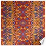 Oriental Watercolor Ornaments Kaleidoscope Mosaic Canvas 12  x 12