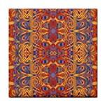Oriental Watercolor Ornaments Kaleidoscope Mosaic Face Towel