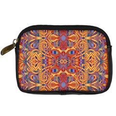 Oriental Watercolor Ornaments Kaleidoscope Mosaic Digital Camera Cases by EDDArt