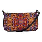 Oriental Watercolor Ornaments Kaleidoscope Mosaic Shoulder Clutch Bags