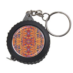 Oriental Watercolor Ornaments Kaleidoscope Mosaic Measuring Tapes by EDDArt