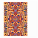 Oriental Watercolor Ornaments Kaleidoscope Mosaic Small Garden Flag (Two Sides)