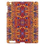 Oriental Watercolor Ornaments Kaleidoscope Mosaic Apple iPad 3/4 Hardshell Case