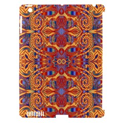 Oriental Watercolor Ornaments Kaleidoscope Mosaic Apple Ipad 3/4 Hardshell Case (compatible With Smart Cover) by EDDArt