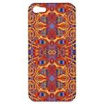 Oriental Watercolor Ornaments Kaleidoscope Mosaic Apple iPhone 5 Hardshell Case