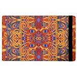 Oriental Watercolor Ornaments Kaleidoscope Mosaic Apple iPad 3/4 Flip Case