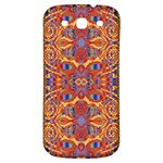 Oriental Watercolor Ornaments Kaleidoscope Mosaic Samsung Galaxy S3 S III Classic Hardshell Back Case