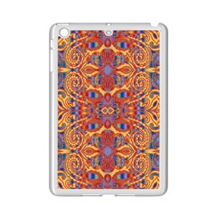 Oriental Watercolor Ornaments Kaleidoscope Mosaic Ipad Mini 2 Enamel Coated Cases by EDDArt