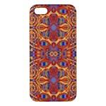 Oriental Watercolor Ornaments Kaleidoscope Mosaic Apple iPhone 5 Premium Hardshell Case