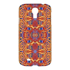 Oriental Watercolor Ornaments Kaleidoscope Mosaic Samsung Galaxy S4 I9500/i9505 Hardshell Case by EDDArt