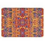 Oriental Watercolor Ornaments Kaleidoscope Mosaic Samsung Galaxy Tab 8.9  P7300 Flip Case