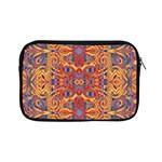 Oriental Watercolor Ornaments Kaleidoscope Mosaic Apple iPad Mini Zipper Cases