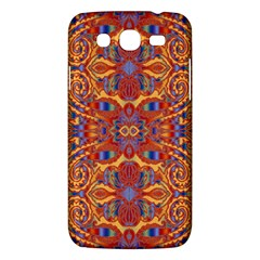 Oriental Watercolor Ornaments Kaleidoscope Mosaic Samsung Galaxy Mega 5 8 I9152 Hardshell Case  by EDDArt