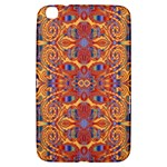 Oriental Watercolor Ornaments Kaleidoscope Mosaic Samsung Galaxy Tab 3 (8 ) T3100 Hardshell Case