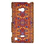 Oriental Watercolor Ornaments Kaleidoscope Mosaic Nokia Lumia 720