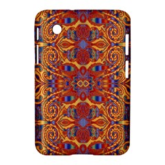 Oriental Watercolor Ornaments Kaleidoscope Mosaic Samsung Galaxy Tab 2 (7 ) P3100 Hardshell Case  by EDDArt