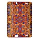 Oriental Watercolor Ornaments Kaleidoscope Mosaic Amazon Kindle Fire HD (2013) Hardshell Case