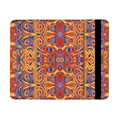 Oriental Watercolor Ornaments Kaleidoscope Mosaic Samsung Galaxy Tab Pro 8 4  Flip Case by EDDArt