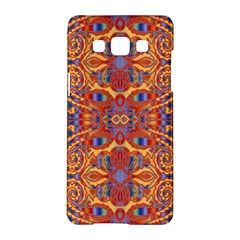Oriental Watercolor Ornaments Kaleidoscope Mosaic Samsung Galaxy A5 Hardshell Case  by EDDArt