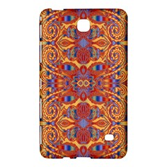 Oriental Watercolor Ornaments Kaleidoscope Mosaic Samsung Galaxy Tab 4 (8 ) Hardshell Case  by EDDArt