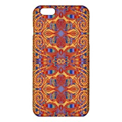 Oriental Watercolor Ornaments Kaleidoscope Mosaic Iphone 6 Plus/6s Plus Tpu Case by EDDArt