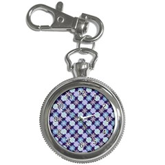 Snowflakes Pattern Key Chain Watches by DanaeStudio